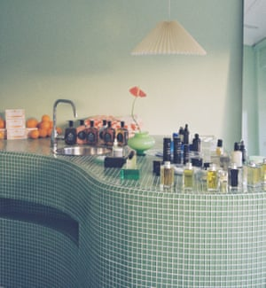 The interior of Folie, a refillable beauty shop in Bondi.
