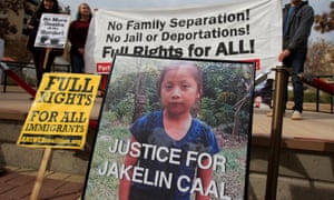 Jakelin Caal Maquín died in US custody 48 hours after crossing the border in New Mexico.