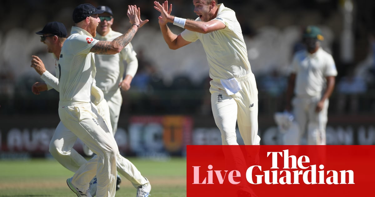 England need four wickets to beat South Africa: second Test, day five – live!