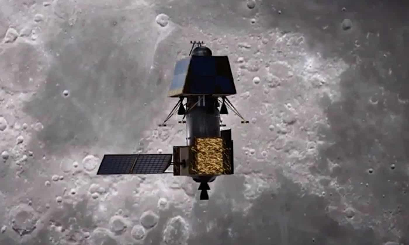 Spacewatch: India's moon mission arrives in lunar orbit