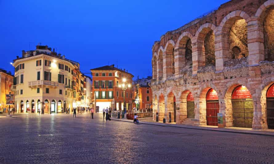 Verona in northern Italy.