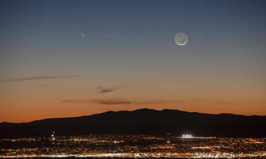 Mount Taylor, from Albuquerque, New Mexico.
