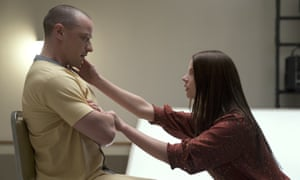 James McAvoy and Anya Taylor-Joy in Glass.
