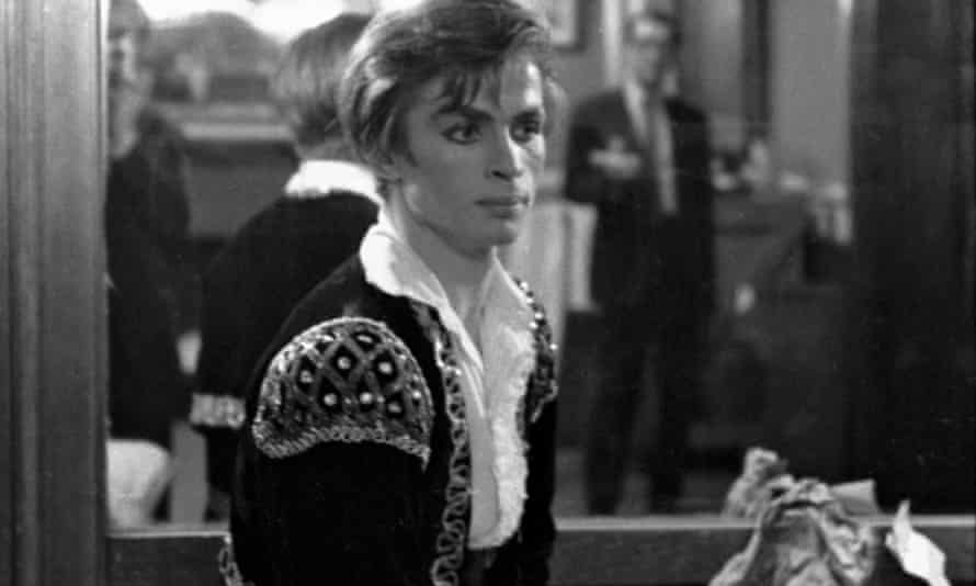 A magnetic figure … Rudolf Nureyev prepares for his American stage debut, 10 March, 1962.