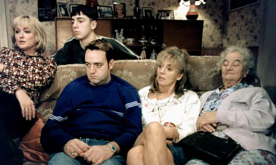 Watching the box … The Royle Family.