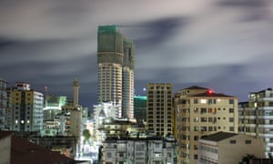 Dar es Salaam in Tanzania is one of the fastest growing cities in Africa.