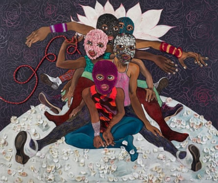 Pussy Riot, by Chitra Ganesh (2015).