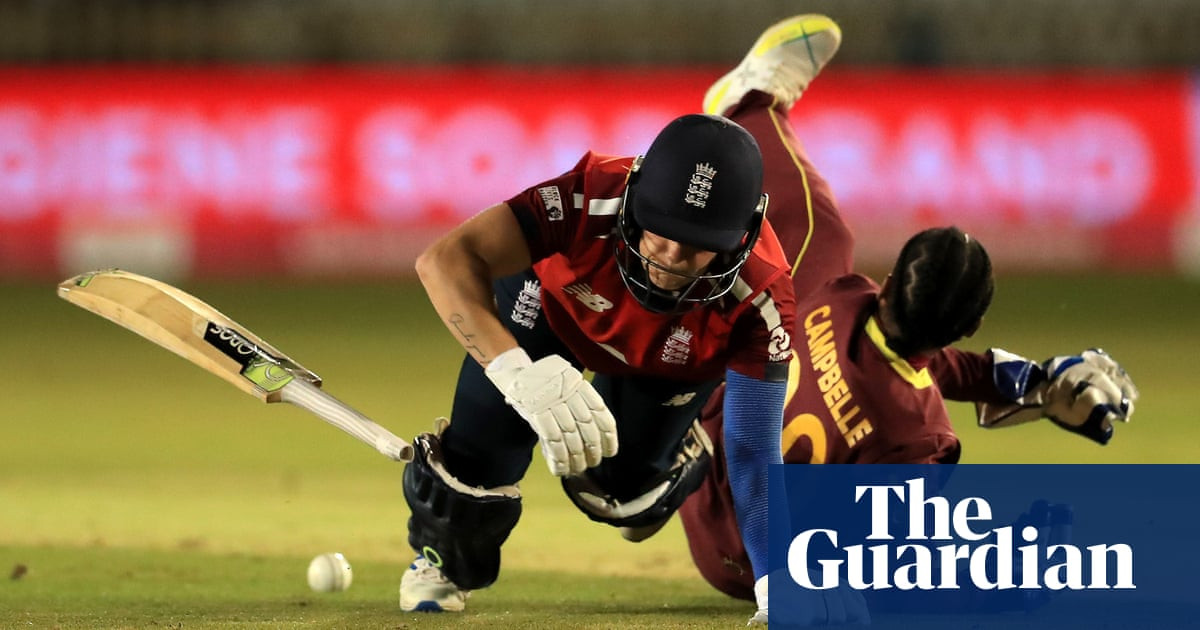 England beat West Indies in five-over slog to seal womens T20 clean sweep