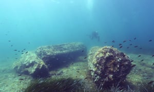 Underwater archaeological site