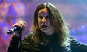 Ozzy Osbourne performing in 2016.