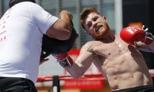 Mexican boxer Canelo Álvarez has failed a voluntary drug test before his rematch with Gennady Golovkin.