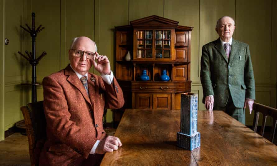 Gilbert and George in 2017