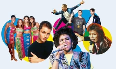 My way... (clockwise from left): Destiny's Child; Matthew Marsden; Chris Martin from Coldplay; the Chainsmokers; Cliff Richard; Janet Jackson.