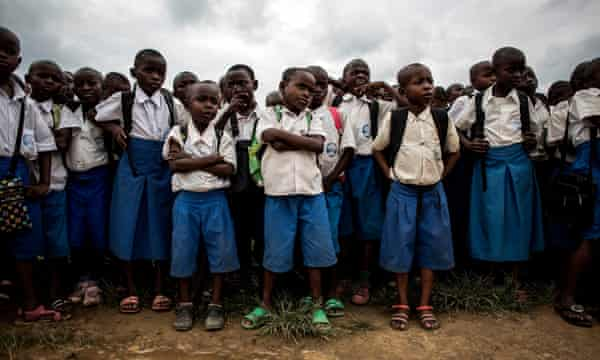 Young Congolese students