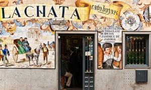 An old tapas bar on Calle Cava Baja in Madrid's La Latina.