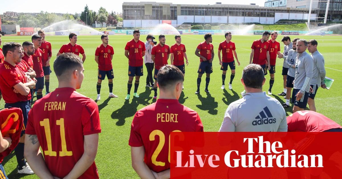 Euro 2020: crunch time for Spain, plus Portugal v France buildup – live!