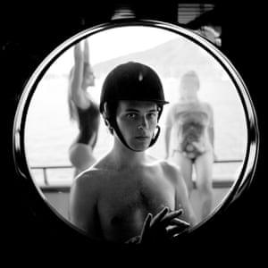 Michael Bailey Yates Behind Glass, Pacific Ocean, 2017