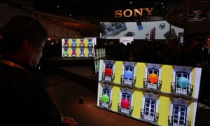 Latest Consumer Technology Products On Display At CES 2017LAS VEGAS, NV - JANUARY 04: The new Sony XBR-A1E BRAVIA OLED series 4K HDR (High Dynamic Range) TV is on display during a press event for CES 2017 at the Las Vegas Convention Center on January 4, 2017 in Las Vegas, Nevada. CES, the world's largest annual consumer technology trade show, runs from January 5-8 and is expected to feature 3,800 exhibitors showing off their latest products and services to more than 165,000 attendees. (Photo by Alex Wong/Getty Images)