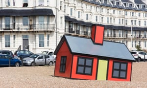 Richard Woods's Holiday Home at Folkestone Triennial 2017.