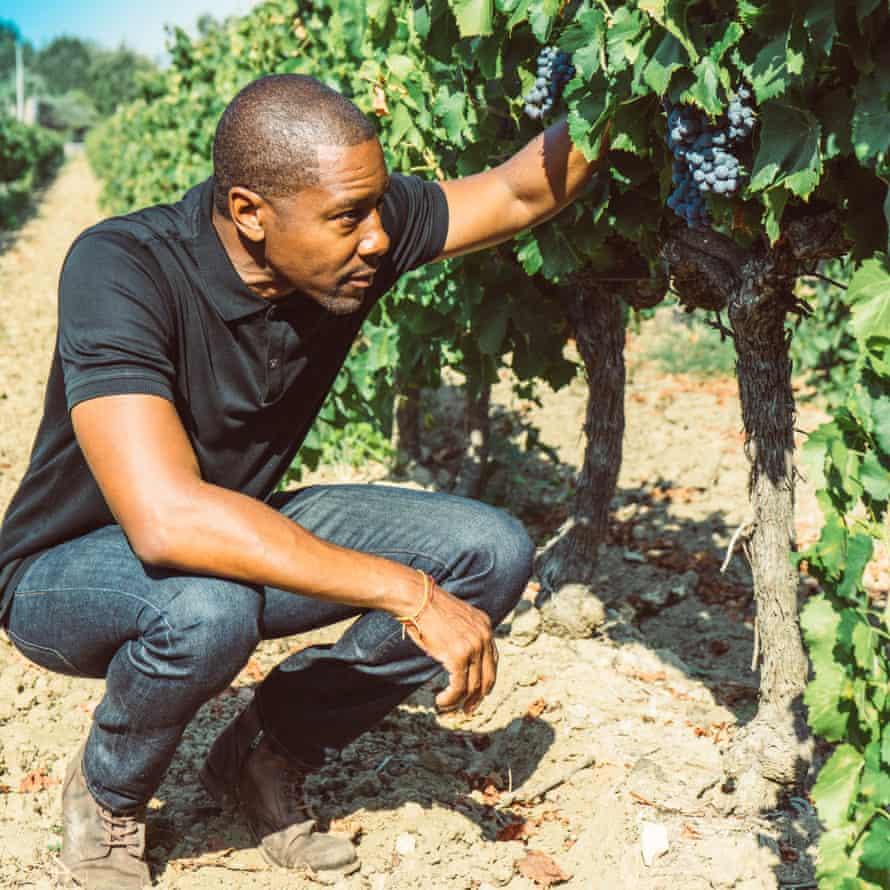 Donae Burston at Domaine Bertaud Belieu Winery in St. Tropez, France