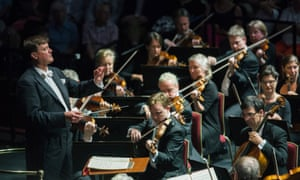 Christian Thielemann conducts the Dresden Staatskapelle for Prom 72 at the Royal Albert Hall, London.
