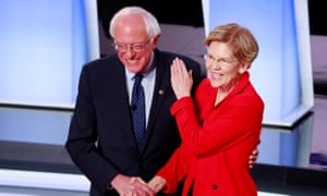 Senators Sanders and Warren have long considered each other friends.