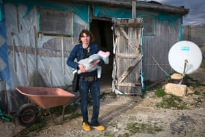 Nicoleta, 34, Romanian survivor of forced labour and sexual slavery in Sicily