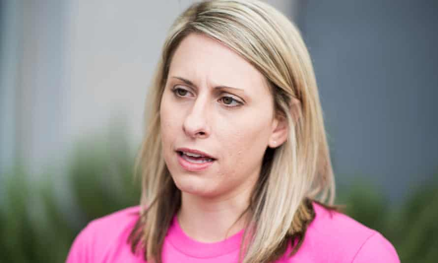 Katie Hill is running for Congress in a Los Angeles district that runs the gamut from wealthy, pro-Trump subdivisions to the heavily Latino farm country.