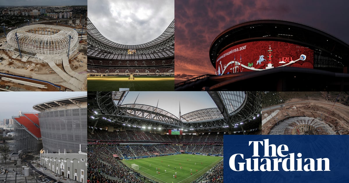 Russia 2018 World Cup: the complete guide to all the stadiums ... on