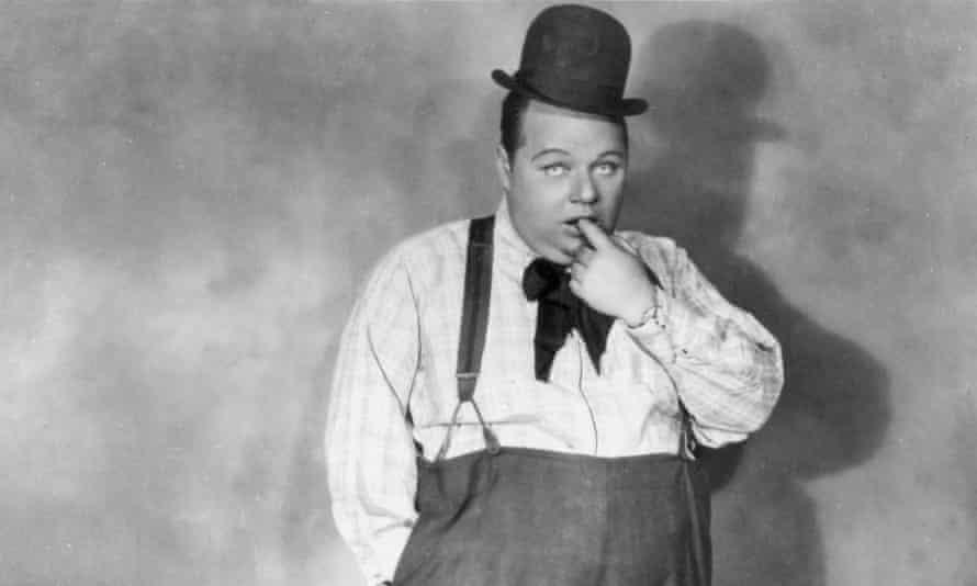 Silent screen comedic actor Fatty Arbuckle (1887-1933), circa 1920.