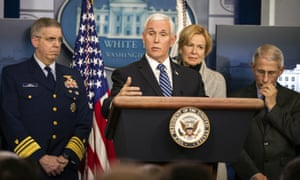 US Vice President Mike Pence said 21 people on a cruise ship being held off San Francisco had tested positive for coronavirus. He also urged older Americans to 'use caution' in planning any cruise ship vacation.