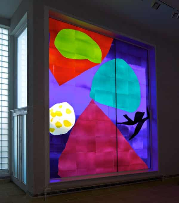 Patrick Heron's stained glass at Tate St Ives.