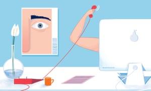 Secret life of a beauty clinic receptionist