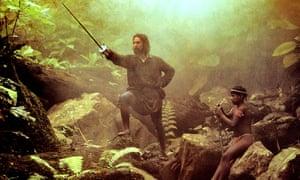 Robert De Niro in The Mission, 1986