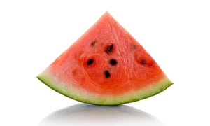 'Very cold melon is the staple of hot climates.'