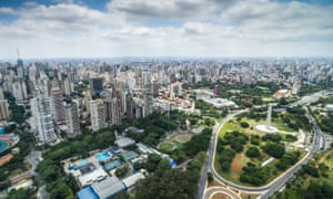 A view of São Paulo. Experts say sewers and drains attract scorpions because of the abundance of cockroaches.