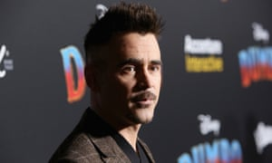 Colin Farrell, who is rumoured to be playing the Penguin.