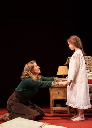 Jessica Hynes and Abbiegail Mills in Far Away at the Donmar.