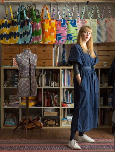 Laura Spring in her Glasgow studio.