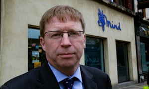Paul Farmer, chief executive of Mind, heads the mental health taskforce that recommended the changes.