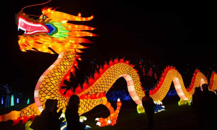 Longleat Light festival