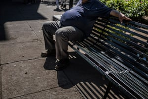 Overweight man in Oaxaca