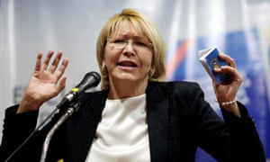 Venezuela's former chief prosecutor Luisa Ortega Díaz broke with the Maduro government in March.
