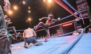 Nor Diana in the ring in Kuala Lumpur, Malaysia.