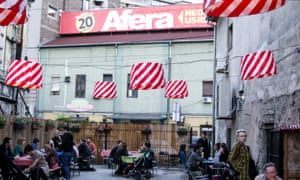 KC Grad, a cultural venue in the hip district of Savamala, near where Belgrade Waterfront is planned.