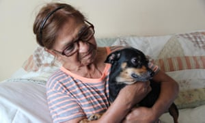 Hilda Deras, 76, has received baseless eviction notices and faced harassment from her landlords, according to the federal lawsuit.