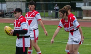 St Helens players