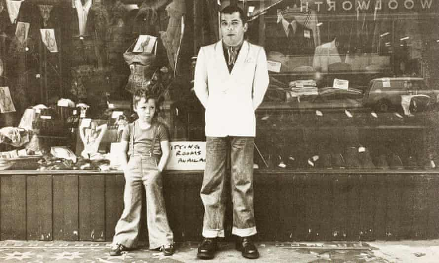 Baxter and Ian Dury on the cover of 'New Boots and Panties!!', the latter's 1977 debut album