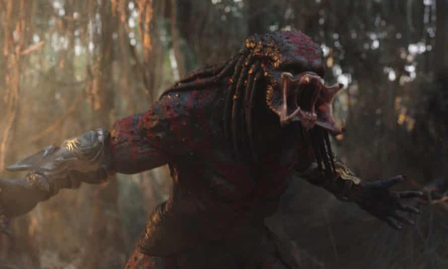 A still from The Predator.
