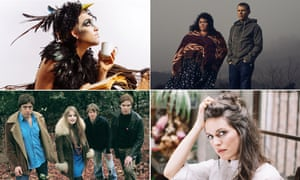 Adventurous … from top left, clockwise: You Are Wolf, the Breath, Olivia Chaney and Trembling Bells